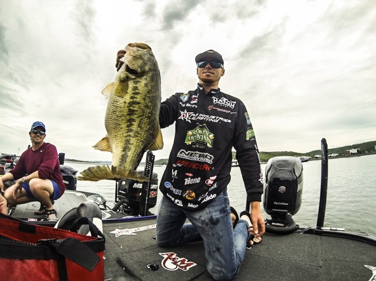 Since that time he has been rock steady, earning paychecks in virtually half of the events he's competed in and qualifying for the Bassmaster Classic in 2014.