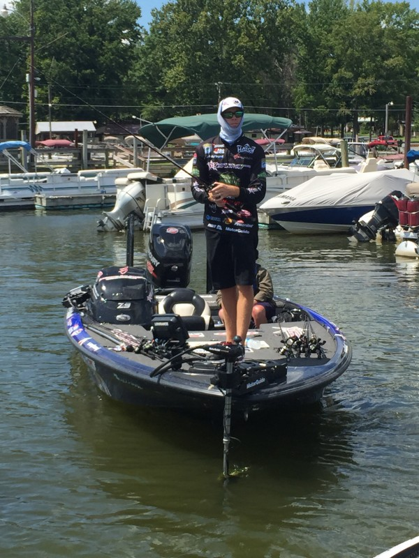 Josh Bertrand is hunting them down. Update by Bassmaster Marshal Layne Ell